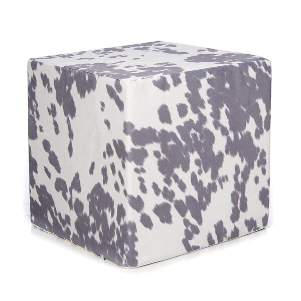 Freddie Decorative Cube Ottoman by Millwood Pines