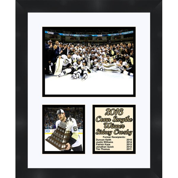 Pittsburgh Penguins Evgeni Malkin Holding The 2016 Stanley Cup Collage Photographic Print by Frames By Mail