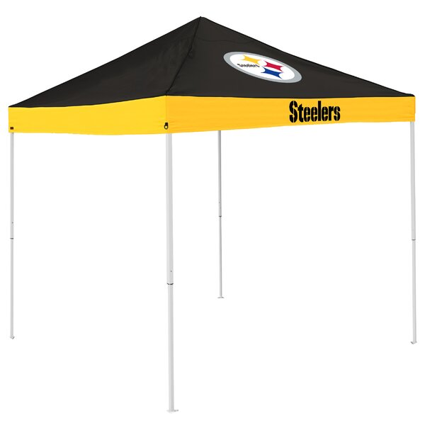 Economy 9 Ft. W x 9 Ft. D Steel Pop-Up Canopy by Logo Brands