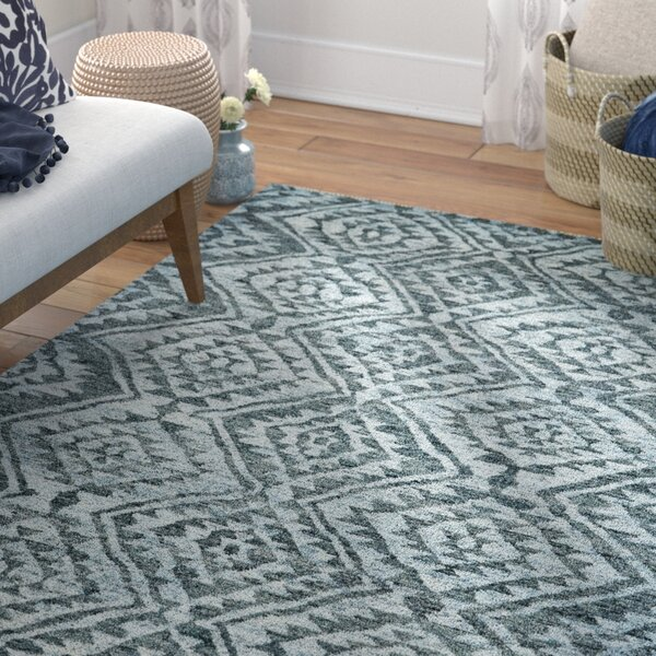 Leesburg Graphite Area Rug by Bungalow Rose