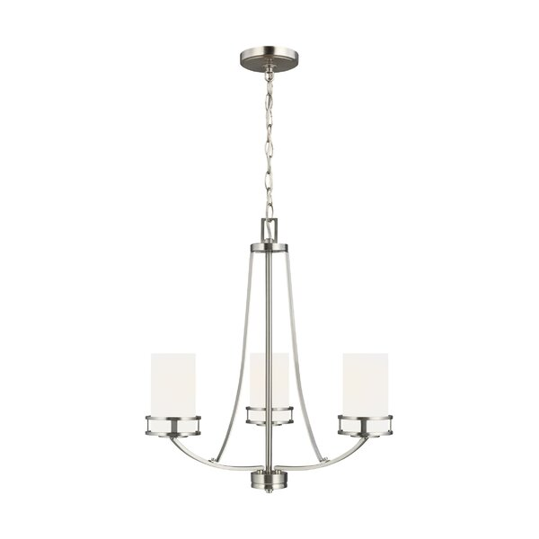 3 - Light Shaded Empire Chandelier by Andover Mills Baby & Kids Andover Mills Baby & Kids