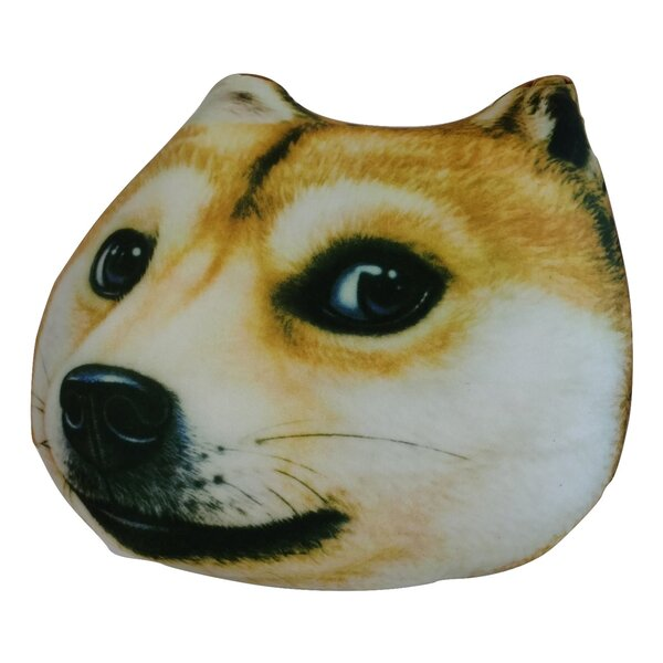 Cute Puppy Dog Microbead Realistic Pillow by Tache Home Fashion