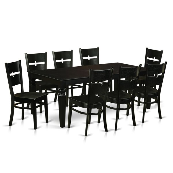 Delbarton 9 Piece Dining Set by Latitude Run