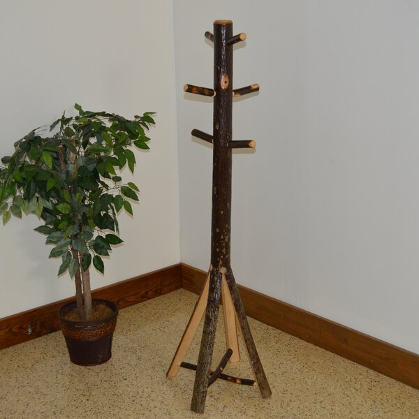 Hickory Split Base Coat Rack by A&L Furniture