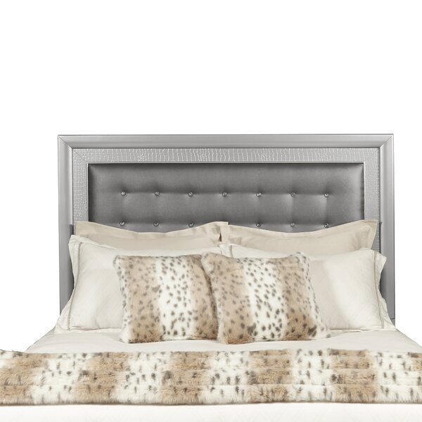 Brinkworth Low Profile Upholstered Panel Headboard by Willa Arlo Interiors