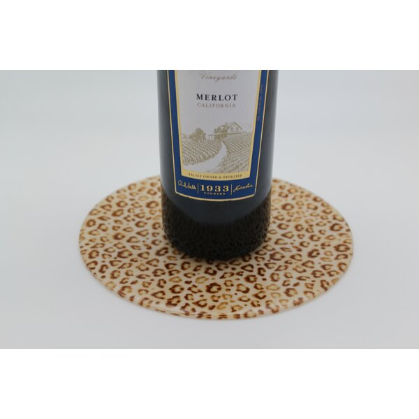 Leopard Trivet by Andreas Silicone Trivets