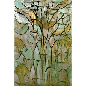 'Tree, 1912' by Piet Mondrian Print by East Urban Home