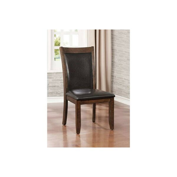 Epperson Wooden Upholstered Dining Chair (Set of 2) by Darby Home Co