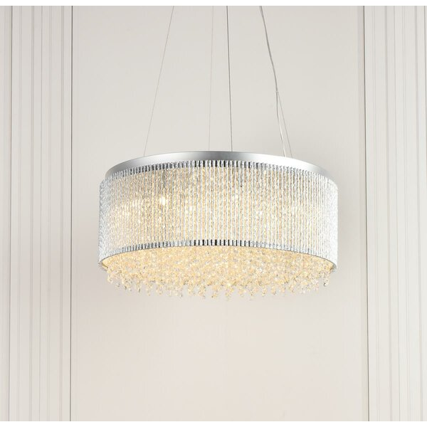 Downes 14 - Light Drum Chandelier By House Of Hampton