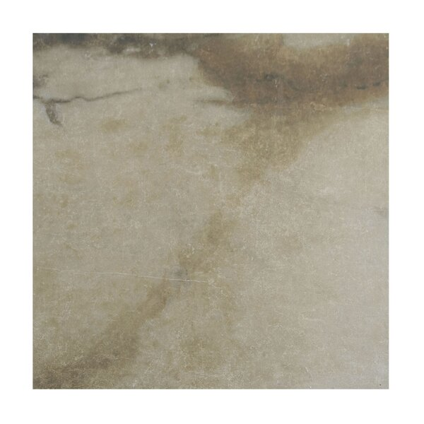 Pearl 18 x 18 Porcelain Field Tile in Camel by Casa Classica