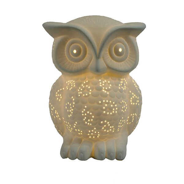 Drakes Owl 9.84 Table Lamp by Harriet Bee