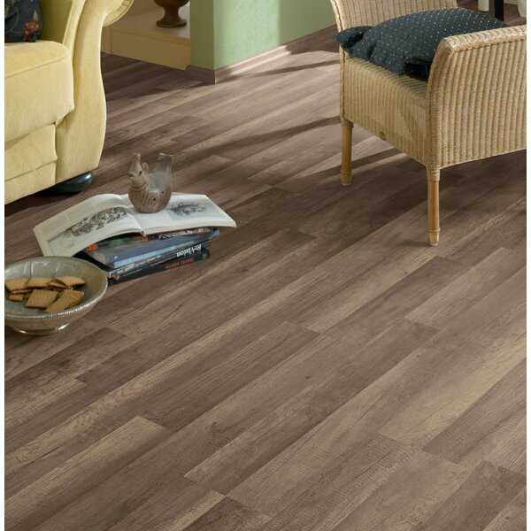 Porto 9 x 48 x 8mm Oak Laminate Flooring in Granola by Branton Flooring Collection
