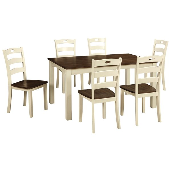 Annalise 7 Piece Dining Set by Rosalind Wheeler