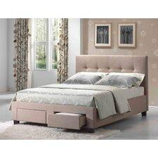 Upholstered Platform Bed by Alcott Hill