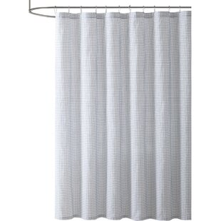 Allegro Gingham Single Shower Curtain