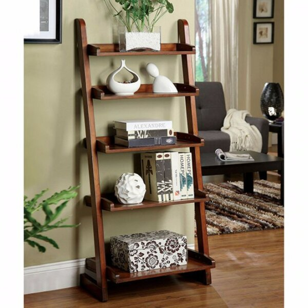 Review Paez Transitional Style Ladder Bookcase