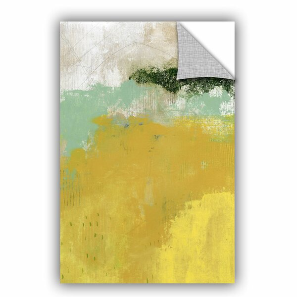 The Yellow Field Wall Mural by ArtWall