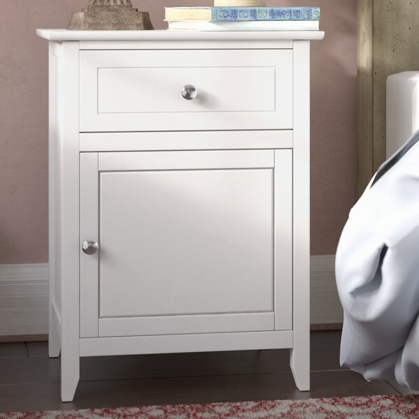 Hammond 1 Drawer Nightstand by Lark Manor