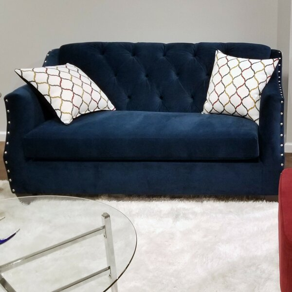 For The Latest In Bostick Loveseat by House of Hampton by House of Hampton