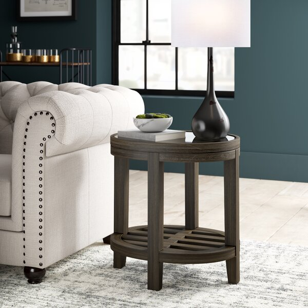 Docia End Table By Greyleigh