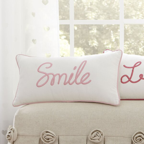 Smile Pillow Cover by Birch Lane Kids™
