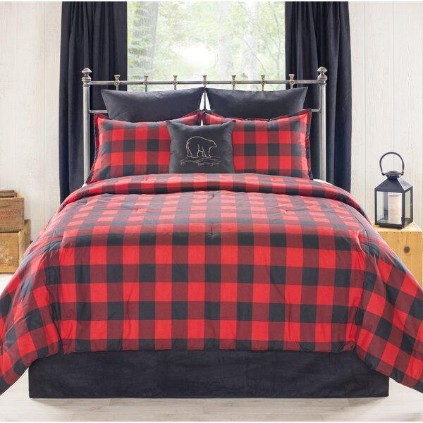 Valletta Bear Creek Cabin and Lodge Comforter Set