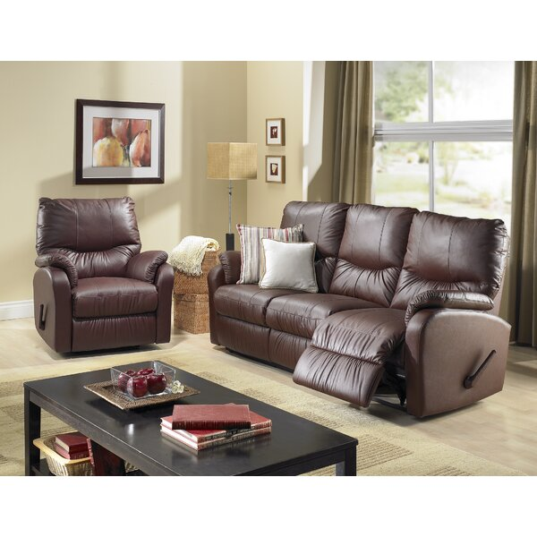 Eva Reclining Configurable Living Room Set by Relaxon