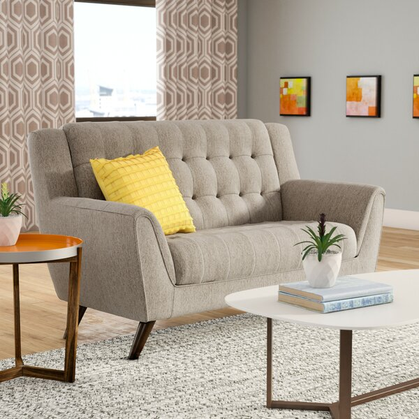 Get Valuable Alvinholmes Loveseat by Langley Street by Langley Street