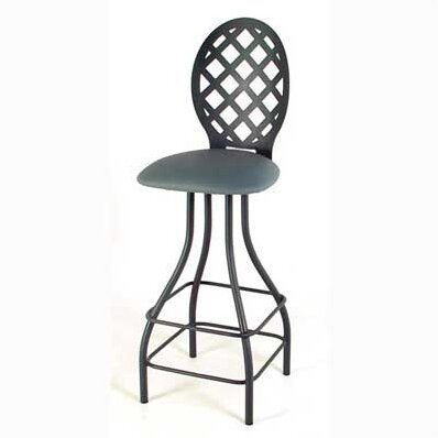 Lattice 30 Swivel Bar Stool by Grace Collection