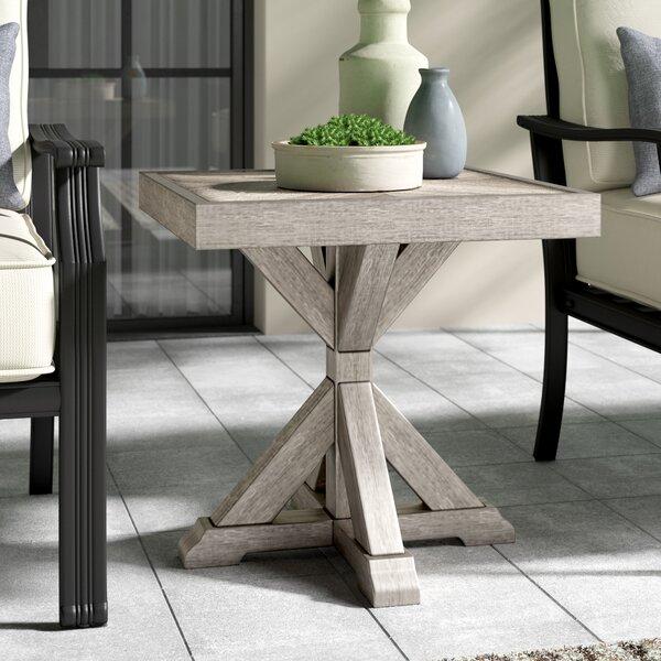 Farmersville Aluminum Side Table by Greyleigh