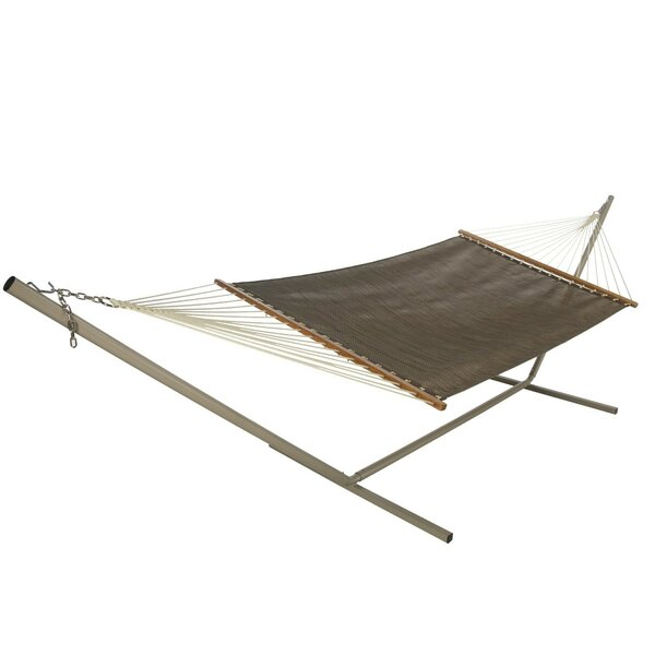 Hamby Large Open Weave Hammock by Highland Dunes