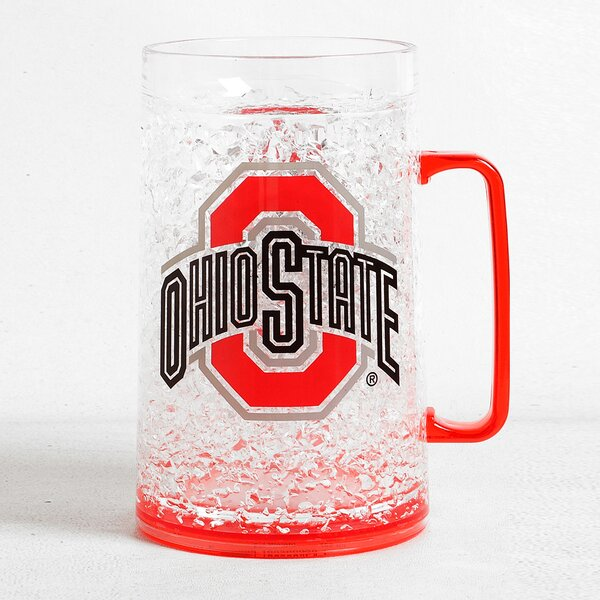 NCAA Beer Glass 36 oz. Crystal by DuckHouse