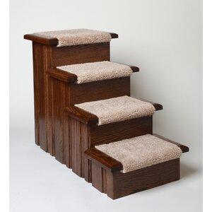 Halverson Raised Panel 4 Step Pet Stair