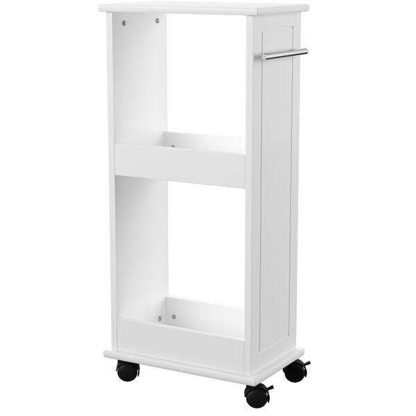 Macie 15.75 W x 32.5 H x 9.45 D Free-Standing Bathroom Shelves