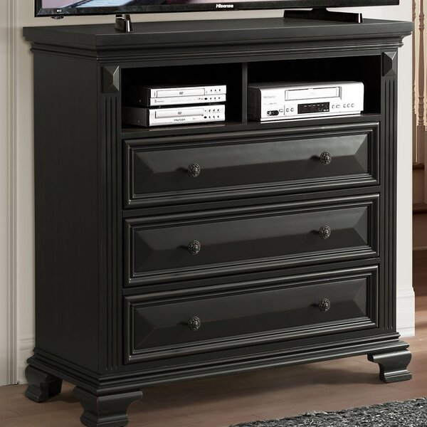 Banwell 3 Drawer Media Chest by Canora Grey