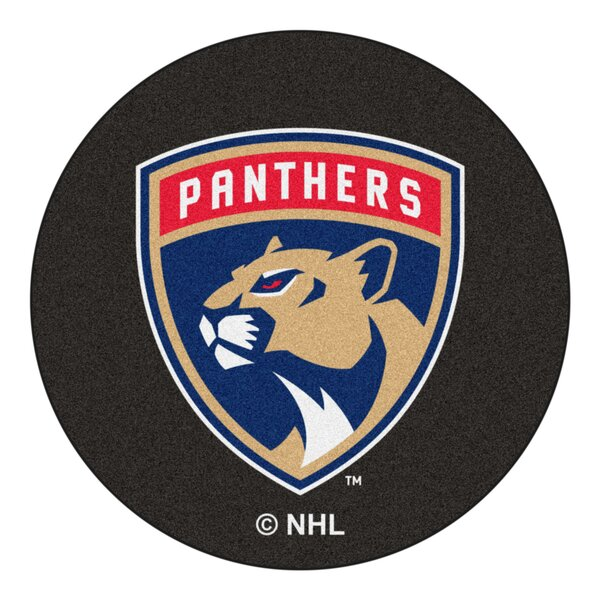 NHL - Florida Panthers Puck Doormat by FANMATS