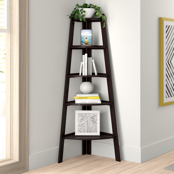 Reviews Tisha Corner Bookcase by Zipcode Design