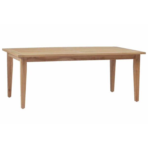 Croquet Teak Rectangular Dining Table by Summer Classics