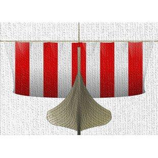 Astounding Vikings Red Area Rug Creativecarmelina Interior Chair Design Creativecarmelinacom