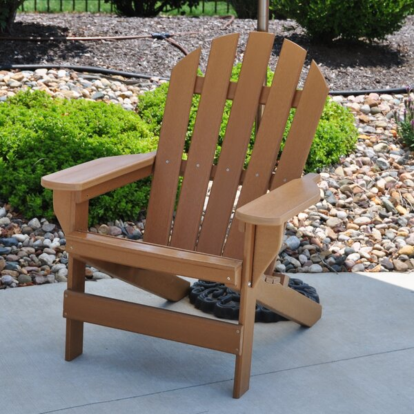Cape Cod Plastic Adirondack Chair by Frog Furnishings