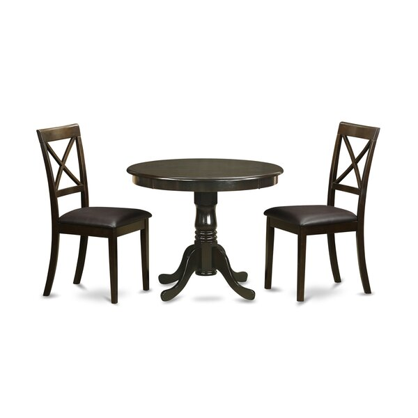 Great price 3 Piece Dining Set By East West Furniture Comparison