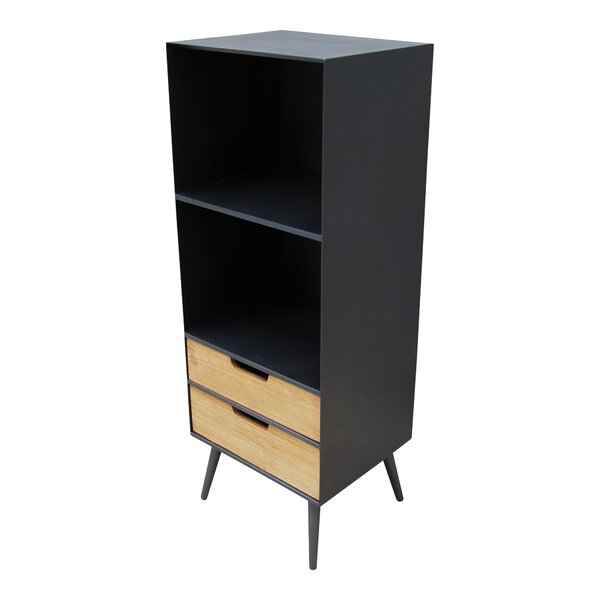 Isolda Two Level Barrister Bookcase by Wrought Studio