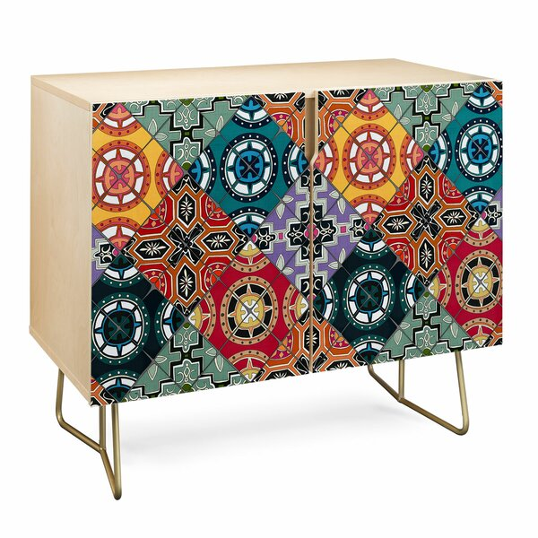 Sharon Spanish Tile Accent Cabinet by East Urban Home East Urban Home