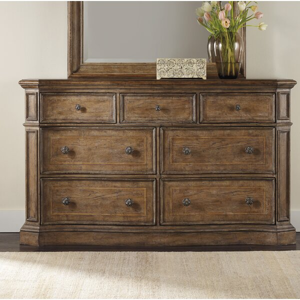 Unruh 7 Drawer Dresser by Ophelia & Co.