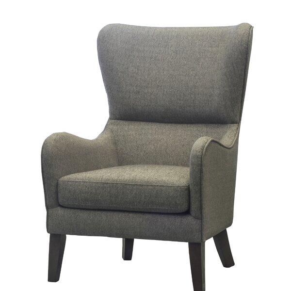 Demi Wingback Chair by Alcott Hill
