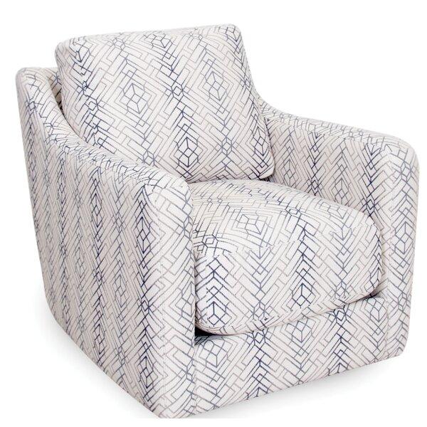 Becker Swivel Armchair by Brayden Studio
