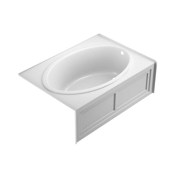 Nova 2-Panel Left-Hand 60 x 42 Skirted Soaking Bathtub by Jacuzzi®