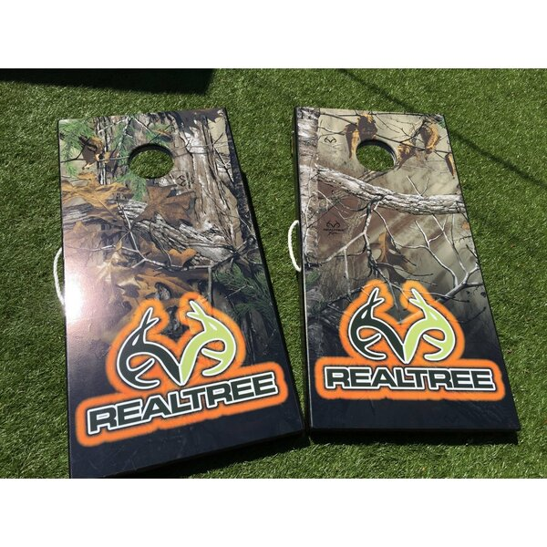 Realtree Camo 10 Piece Cornhole Set by West Georgia Cornhole