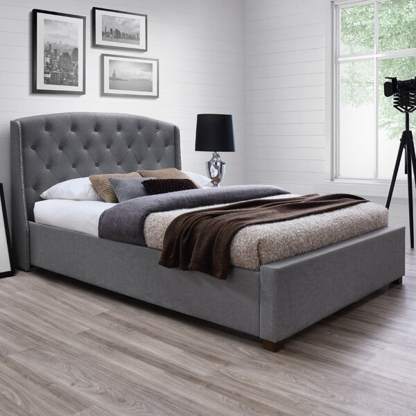 Mcgowan Upholstered Platform Bed by House of Hampton