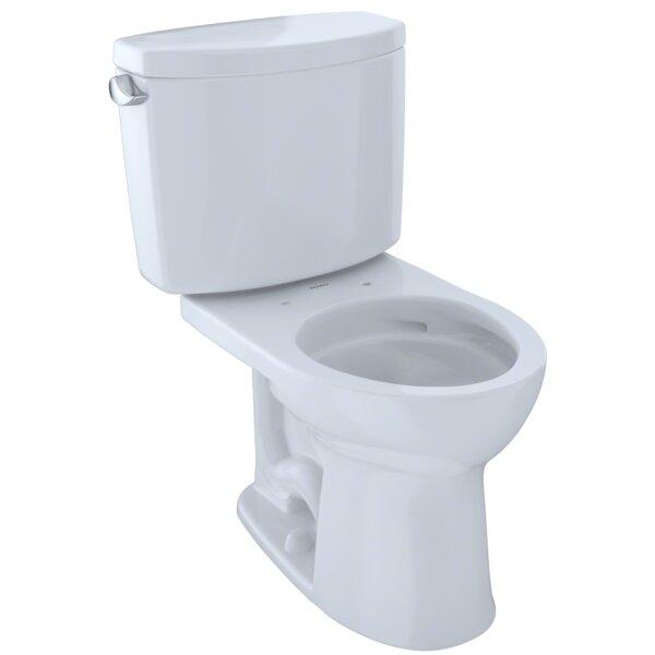 Drake Dual Flush Round Two-Piece Toilet by Toto
